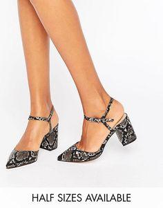 ideas de Zapatos de Tacon bajo para Fiesta