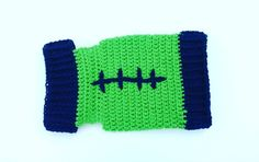 Seattle Seahawks Football Cat Sweater by Sarah's Enchanting Creations
