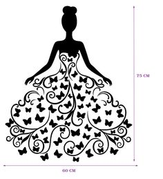 silueta de vestido - Buscar con Google