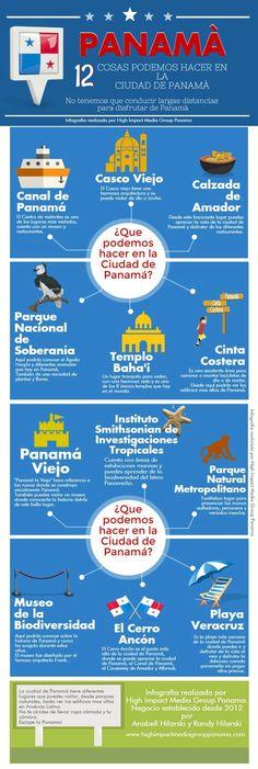12 Cosas Podemos Hacer en la Ciudad de Panamá - @HIMGPanama #Panama #PTY #PanamaCity