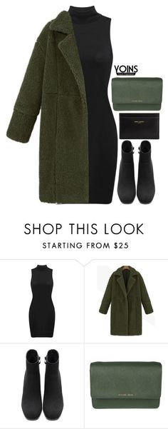 """Yoins 7.1"" by emilypondng ❤ liked on Polyvore featuring MICHAEL Michael Kors, Yves Saint Laurent, yoins, yoinscollection and loveyoins"
