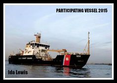 "Coast Guard Cutter Ida Lewis is a 175-foot ""Keeper Class"" coastal buoy tender. She's also participating in our Chowder Challenge!"