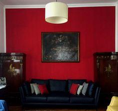 Salotto rosso - Designer Piera Morseletto