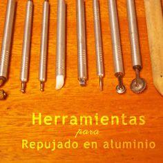 La guía para empezar a repujar en aluminio, esta realizada para personas que recién inician en el arte de repujar.