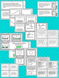 Grade Common Core Math Task Cards - Your planning just got easier with these grade math Common Core task cards. This page resource has a set of 24 task cards for each of the grade Common Core Standards in math. Math Skills, Math Lessons, Math Resources, Math Activities, Daily 5 Math, Common Core Math Standards, Math Task Cards, Fourth Grade Math, Teaching Math