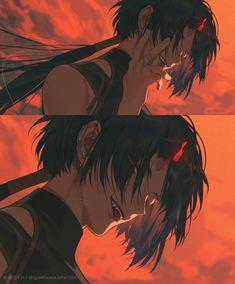Evil Anime, Dark Anime, Dark Art Illustrations, Illustration Art, Manga Art, Anime Art, Yandere Girl, Drawing Body Poses, Otaku