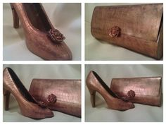 Edible Chocolate Shoe and Purse. Perfect Valentine's day gift