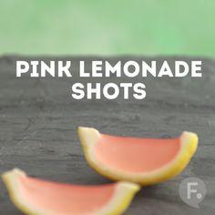 Lemonade Gelatin Shots