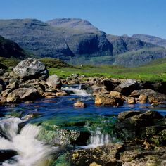 The Clisham is a mountain on the island of Harris in the Western Isles of Scotland. It is the highest mountain in the Outer Hebrides.