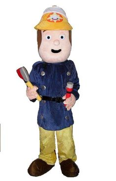 Fireman Sam costume to hire for childrens parties!!
