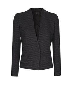 MANGO - Minimalistic cropped blazer