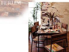 ボードウッド古材シリーズ [FERUM]|furum、ボードウッド、カラフルな、古材、アイアン、インダストリアル、テーブル、チェア、シェルフ、店舗用品とディスプレイ什器の通販