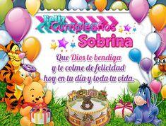Spanish Birthday Cards, Happy Birthday In Spanish, Birthday Wishes For Friend, Happy B Day, Holidays And Events, Projects To Try, Birthdays, Birthday Cake, Joy