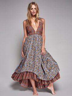 Free People Rhythm of Love Maxi Dress