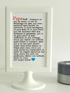 Carte Papa Définition