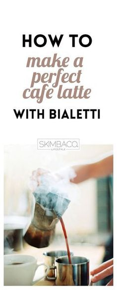 Tips how to make a perfect cafe latte with Bialetti. Bialetti moka is really one of the best coffee makers for espresso at home – and it's cheap too! Espresso At Home, Best Espresso, Espresso Maker, Espresso Coffee, Coffee Latte, Bialetti Espresso, Starbucks Coffee, Pour Over Coffee Maker, Best Coffee Maker