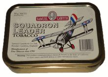 Sam Gawith Tin Pipe Tobacco - Squadron Leader (50g)