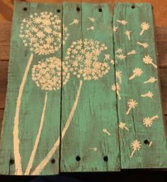Rustic painting on reclaimed wood by CBrookeCreations on Etsy