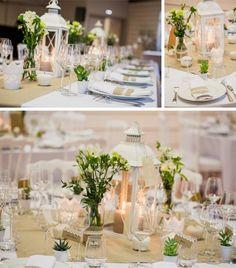 Summer wedding executed in June. Love Decorations, Wedding Ceremony Decorations, Wedding Centerpieces, Wedding Table, Rustic Wedding, Luxury Wedding, Color Durazno, Lantern Centerpieces, Son Luna