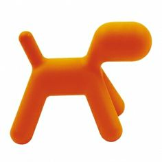 Magis Puppy Small Stool Chair - By Eero Aarnio Small Puppies, Cute Puppies, Dogs And Puppies, Stool Chair, Red Worms, Art Et Design, Ball Chair, Small Stool, Chairs