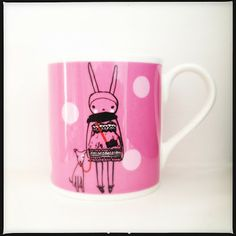 Fifi Lapin mug- can't wait until this is for sale. So stinkin' cute.