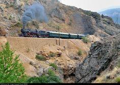 RailPictures.Net Photo: 56 548 TCDD steam 2-10-0 at Between Kayseri and Adana, Turkey by Daniel SIMON