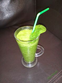 zöld turmix, green smoothie