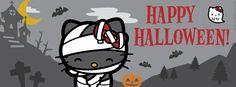 I love hello kitty Hello Kitty Shoes, Hello Kitty Bag, Sanrio Hello Kitty, Halloween Cover Photos, Halloween Facebook Cover, Fb Timeline Cover, Fb Cover Photos, Facebook Timeline, Fall Halloween