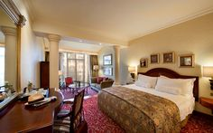 The Michelangelo Hotel: modern accommodation in Johannesburg which offering complimentary Wi-Fi, a restaurant and an indoor pool. Book now! Michelangelo Hotel, New York Hotels, Best Hotels, Indoor, Luxury, Bed, Modern, Wi Fi, Furniture