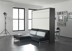 The London Wallbed Company - Sofa Wallbeds - Loft _ Freestanding and Space saving Used Office Furniture, Space Saving Furniture, Bedroom Furniture, Furniture Design, Transforming Furniture, Bed Wall, Tiny House Plans, Living Spaces, Home Decor