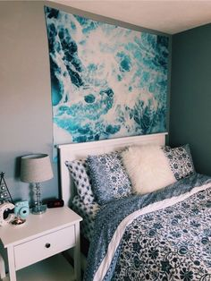 Bedroom Design And Decoration Tips And Ideas - Top Style Decor Cute Room Ideas, Cute Room Decor, Wall Decor, Girls Bedroom, Bedroom Decor, Bedroom Ideas, Bedroom Inspo, Bedroom Themes, Beachy Room
