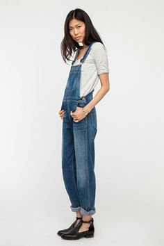 Denim Trends To Dip Into                                                           | CITIZENS OF HUMANITY OVERALLS, $297, AVAILABLE AT NEED SUPPLY