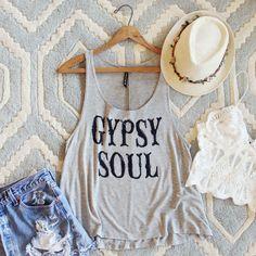 Gypsy Soul Tank: Alternate View #1