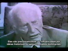 """""""O único perigo real existente é o próprio homem"""", entrevista com o psicólogo Carl G. Jung: http://www.gluckproject.com.br/compreenda-um-pouco-da-mente-humana-em-uma-bela-entrevista-com-o-psicologo-carl-g-jung/"""