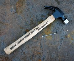 Personalized Hammer for Father's Day
