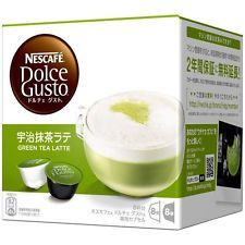 Nescafe Dolce Gusto Capsul Uji Matcha Latte Japanese Green Tea LatteTaste 8cups (EBAY)