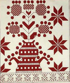 Slavic pattern for embroidery