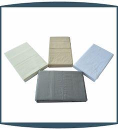Isabelle 1000TC Solid Duvet and Sheet Sets
