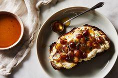 Roasted Grape + Ricotta + Thyme Toast recipe on Food52