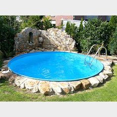 Small pools: 9 models that can be implemented without a large budget - Garten - Piscinas Piscina Diy, Mini Piscina, Piscina Oval, Small Backyard Design, Small Pools, Small Backyard Landscaping, Pool Backyard, Backyard Ideas, Swimming Pool Designs