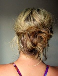 Messy Low Bun : How To