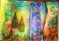 By Tracey Shenton using Dylusions / Dyan Reaveley / Ranger