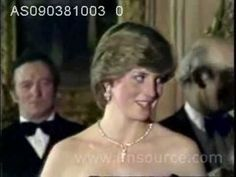 Lady Diana made her first official appearance with Prince Charles since their engagement. They were at a gala evening at Goldsmith's Hall to raise funds for the Royal Opera House. 9.3.81