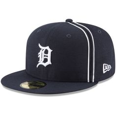 best website 2b719 4e373 Detroit Tigers New Era Y2K Soutache 59FIFTY Fitted Hat - Navy. Detroit  Tigers CapCaps HatsStylishSnapbackFitnessSportsNavyMlbProducts