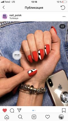 Lessons That Will Get You In The arms of The Man You love Hot Nails, Hair And Nails, Hawaii Nails, Chameleon Nails, Geometric Nail Art, Fall Nail Art Designs, Nagellack Trends, Happy Nails, Ballerina Nails