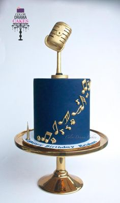 Music themed cake - cake by Color Drama Cakes theme Music themed cake Birthday Cakes For Men, Music Birthday Cakes, Music Themed Cakes, Music Cakes, Music Themed Parties, Beautiful Birthday Cakes, 60th Birthday Cake For Men, Bolo Musical, Cake Design For Men