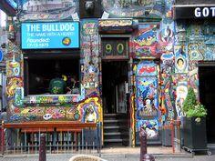 Bulldog cafe, Amsterdam by Daniel2005, via Flickr