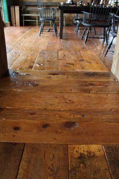 Antique Flooring ~ Peter Zimmerman Architects