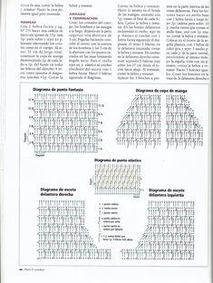Para Tí Crochet Nº 11 - Melina Crochet - Picasa Web Albums Stitch Patterns, Crochet Patterns, Crochet Clothes, Crochet Lace, Personalized Items, Knitting, Charts, Albums, Inspiration