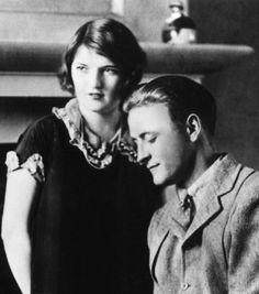 "Scott and Zelda Fitzgerald - at the time he was writing a fantasy novel, the working title ""The Legend of Zelda""... nah just kidding, but he should have been"